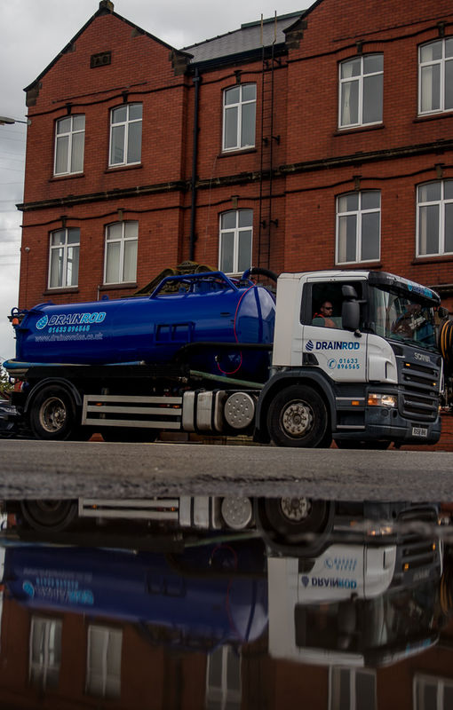 Drainrod Waste Removal Vaccum Tanker
